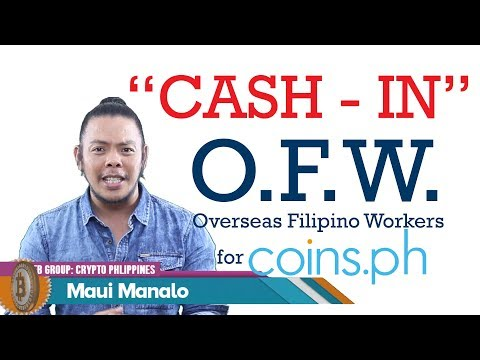 "STEP BY STEP - ""Cash In"" to Coins.ph for OFWs"