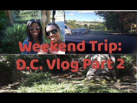 Weekend Trip | D.C. Vlog | Part 2 | National Zoo | National Oyster Day