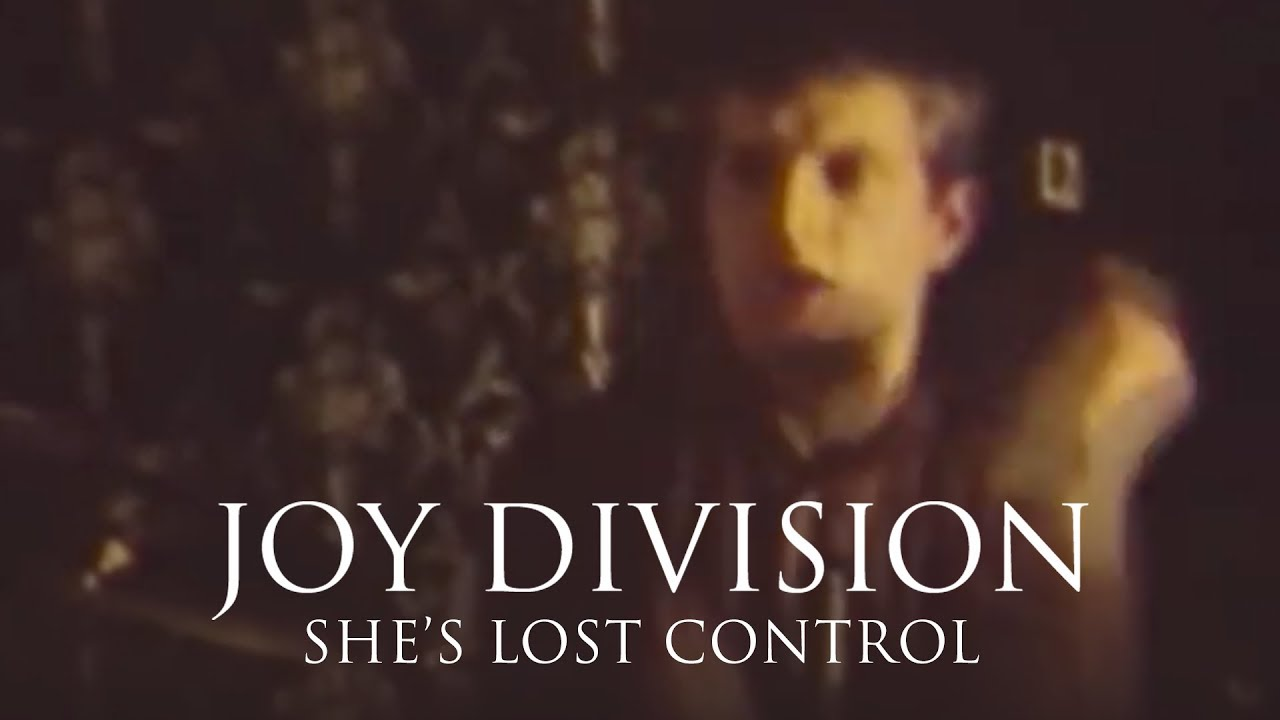Joy Division - She's Lost Control [LIVE] - YouTube