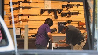 Smash-and-grab burglars hit Littleton gun store for third time