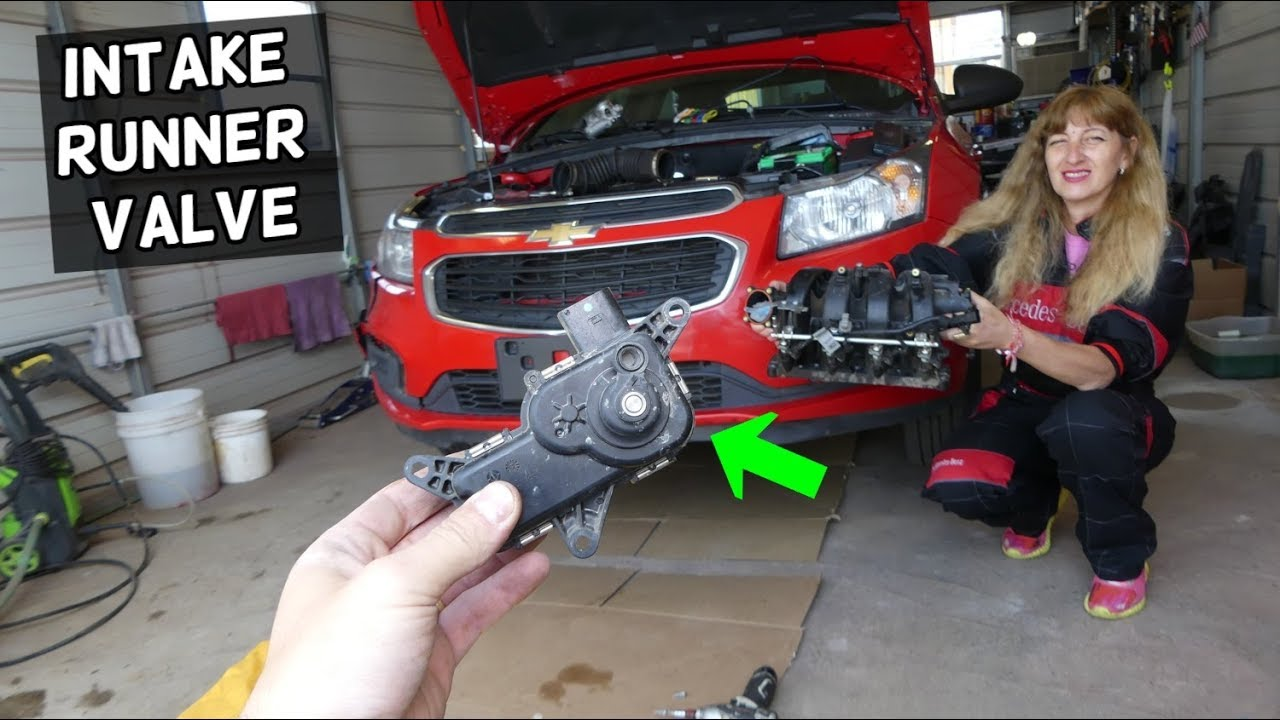 CHEVROLET CRUZE INTAKE RUNNER CONTROL VALVE SOLENOID REPLACEMENT LOCATION   CHEVY SONIC