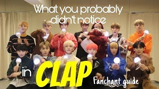 What you (probably) didn't notice in Seventeen Clap Fanchant guide