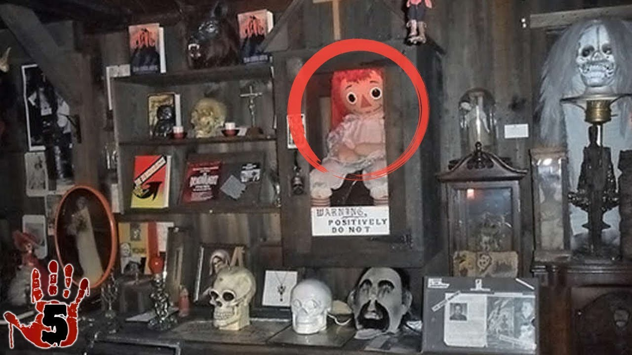 5 Scary Items At The Warren Occult Museum