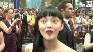 Rila Fukushima Interview The Wolverine World Premiere.