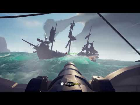 Crew's first Ghost Ship fight!