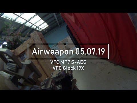 VFC MP7 SAEG Gameplay - CQB- Airweapon 05.07.19