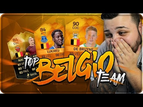 FIFA 16 BELGIO TEAM !!! [By J0k3R]
