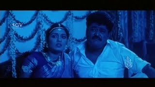 Doddanna distrubs sons First Night   Jaggesh   Ravichandran   Sadhu Kokila   Kannada Comedy Scenes