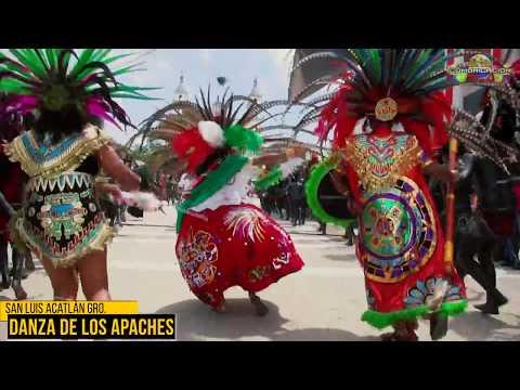 Danza de los Apaches 2017 San Luis Acatlan Gro