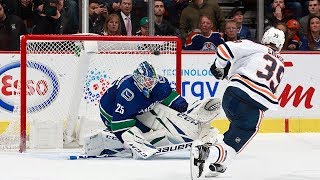Oilers and Canucks settle a thriller in the shootout