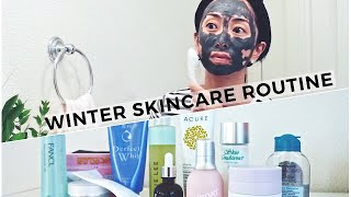 Winter Skincare Routine 2018, winter skincare routine, skincare