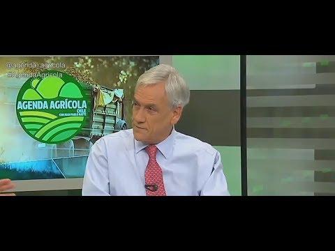 Agenda Agrícola: Sebastián Piñera comentó los problemas en la agricultura chilena