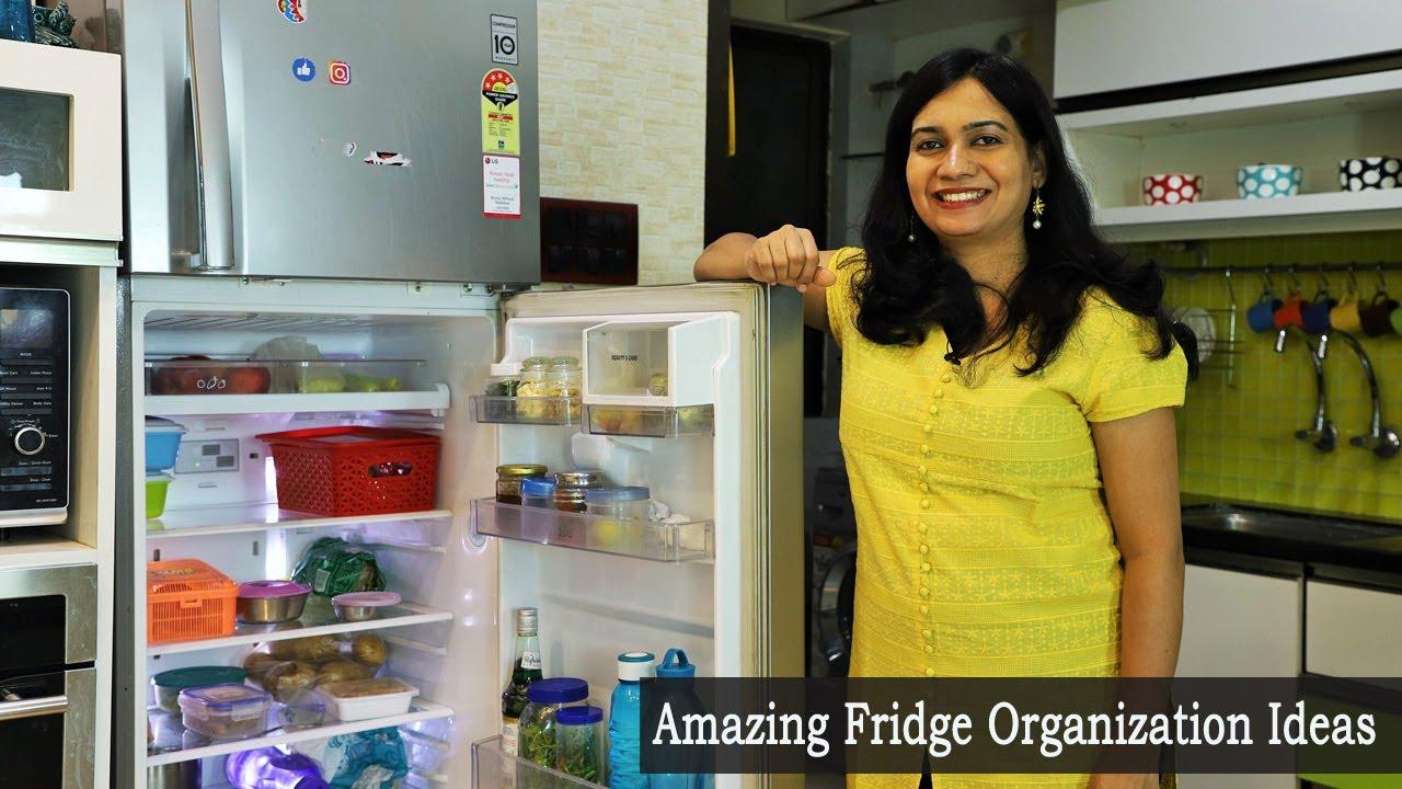 फ्रिज वमध्ये वस्तू व्यवस्थित कशा ठेवाव्यात | How to organize Fridge | Fridge Organization Tips