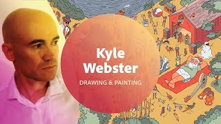 Drawing & Painting in Photoshop with Kyle Webster - 2 of 2