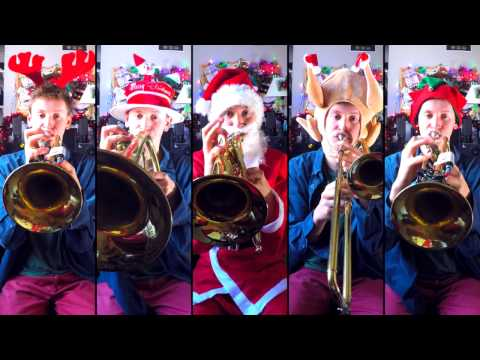 Let it Snow for Brass Quintet with sheet music