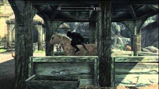 Skyrim: How to make your horse stop following you (& How to get a horse for free)