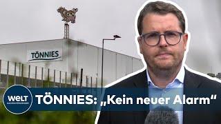 Beim fleischbetrieb tönnies in rheda-wiedenbrück sind jetzt bei routinemäßigen kontrollen wieder 30 mitarbeiter positiv auf das coronavirus getestet worden. ...
