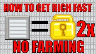HOW TO GET RICH FAST!!! (NO FARMING) 2017 EASY WLS METHOD!