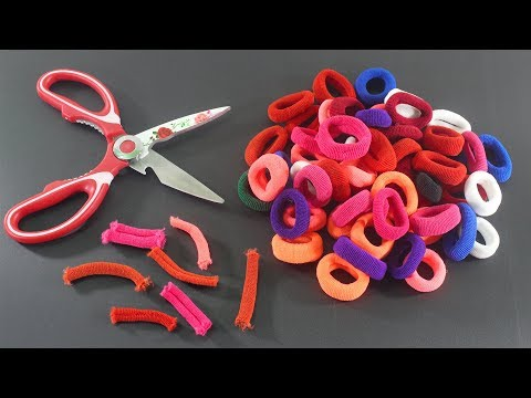 রাবার ব্যান্ড দিয়ে ভেরি নাইস আইডিয়া | Diy Mind Blowing Craft With Rubber Bands!!