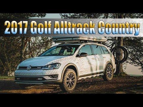 2017 Volkswagen Golf Alltrack Country Concept