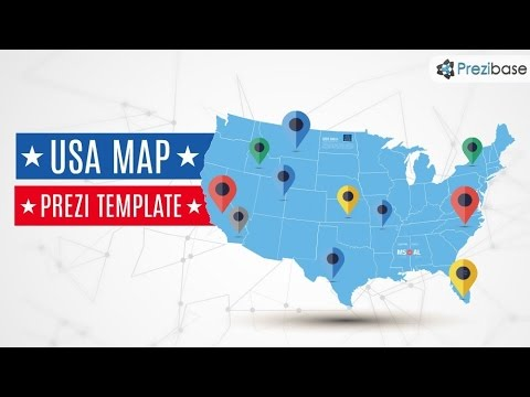 usa map prezi template youtube