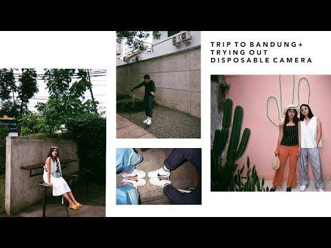 Trip ke Bandung + nyobain disposable camera!