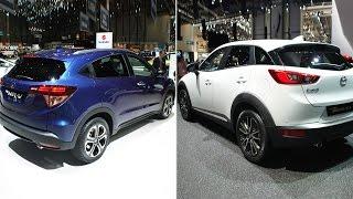 Honda HR-V o Mazda CX-3? - SONDAGGIO | Salone di Ginevra 2015