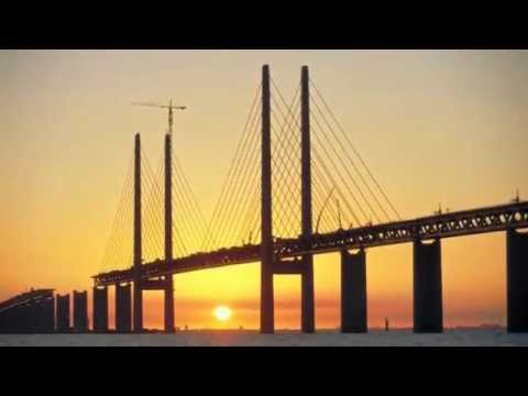 The Øresund Bridge -  is the longest in Europe