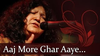 "Abida Parveen Sufi Hits - ""Aaj More Ghar Aaye Balma"" - Best of Pakistani  Sufi Singer Songs"