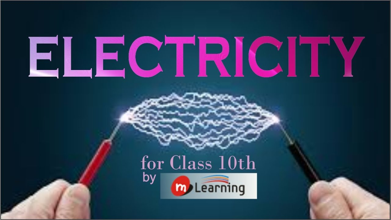 ELECTRICITY : What is Electric Current? - Class 10th & NTSE - 05/36 ...