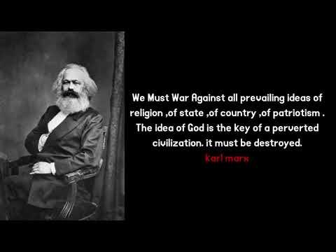 Karl Marks Was A SATANIST(Illuminati) !!!Communism Exposed URDU AND HINDI