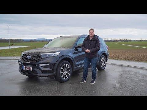 Das neue Flaggschiff ist da!! 2020 Ford Explorer Plug in Hybrid - Review, Fahrbericht, Test deutsch