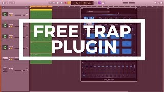 Free Plugin For Hip Hop/Trap Beats - Drum Pro (Garageband Tutorial)