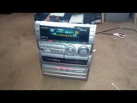 Update on Aiwa stereo