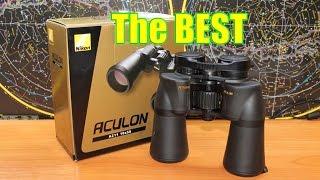 Бинокль Nikon Aculon A211 10x50. Полный обзор и рекомендации!
