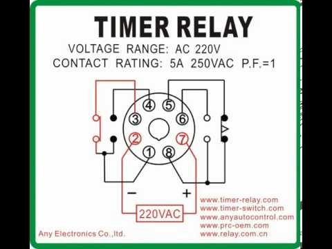 AH3 N MCU timer relay Mode B - YouTube