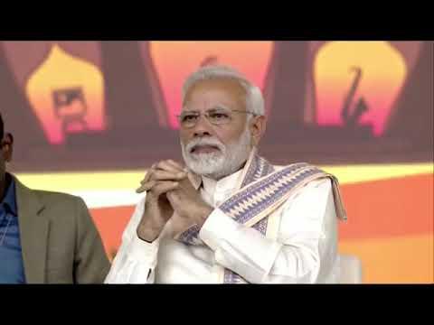 PM Narendra Modi opens Amdavad Shopping Festival 2019 - delivers speech