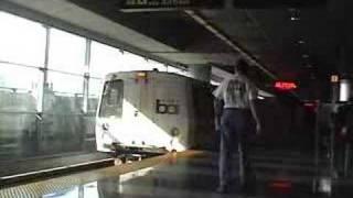 BART SFO San Francisco International Airport California Bay Area Rapid Transit