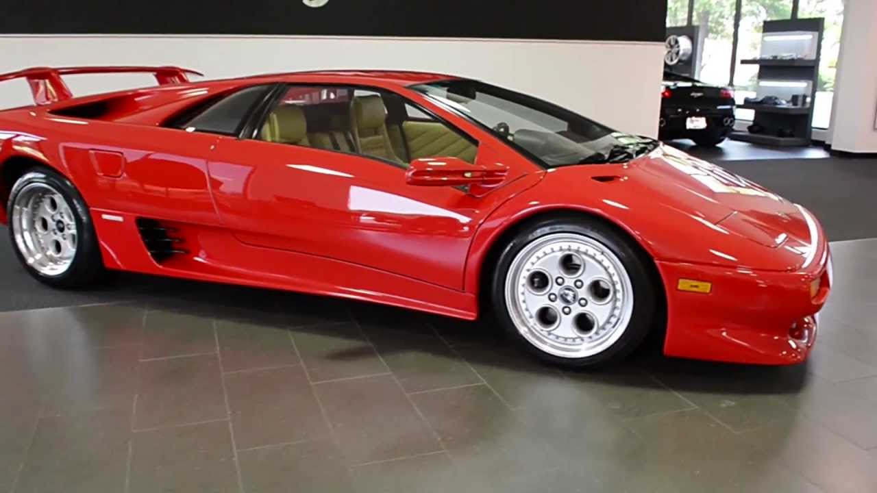 Red Lamborghini Car Wallpaper 1994 Lamborghini Diablo Vt Red Lt0516 Youtube