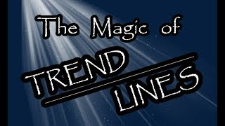Best Forex Videos : The Magic of Trendlines PART 1