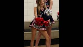 ava sambora Shows off Her Cheerleader Uniform
