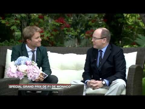 Nico Rosberg: French Interview with Prince Albert