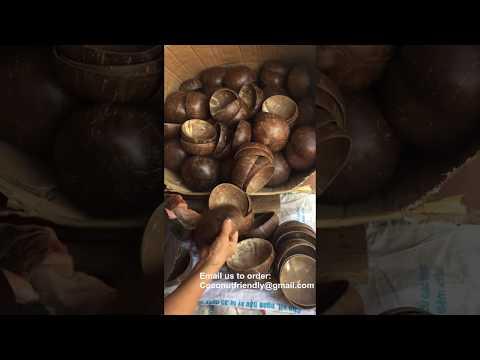 Original Coconut Shell Bowls Wholesale , Lacquer Coconut ...