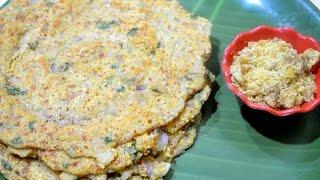 Adai Dosai recipe | South Indian Ada or Adai recipe | Adai Dosai