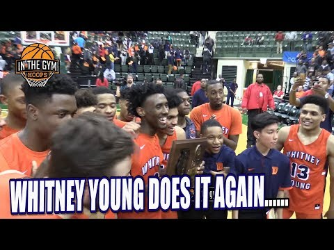 Whitney Young DOES IT AGAIN.. DEFEATS NATIONALLY RANKED SIMEON TO ADVANCE TO STATE FINAL 4!