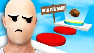BE BALD OBBY IN ROBLOX