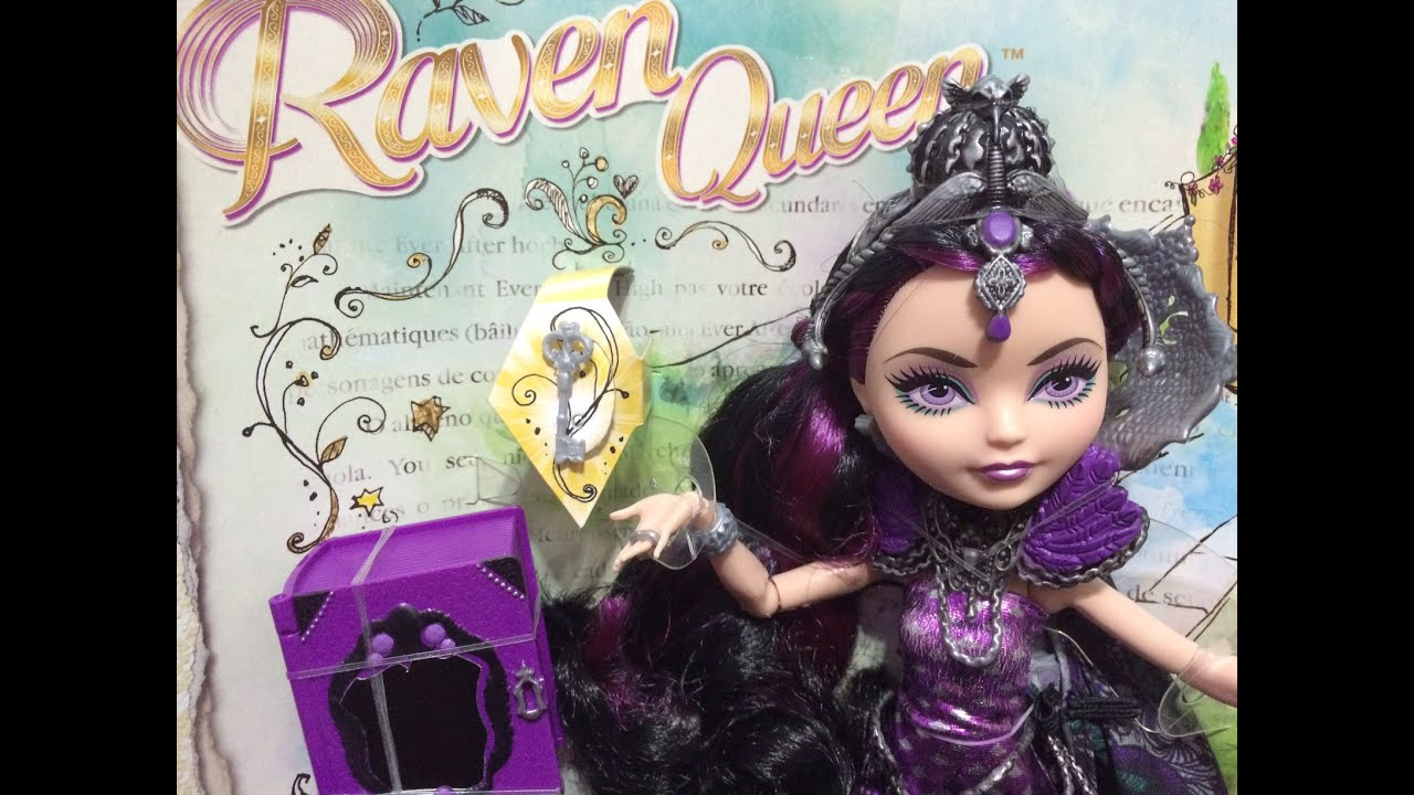 Raven Queen Legacy Day Review & Unboxing - Ever After High ...