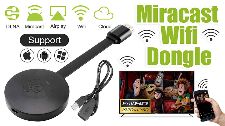 connect mobile screen to tv with miracast wifi dongle i wireless display i wifi display receiver