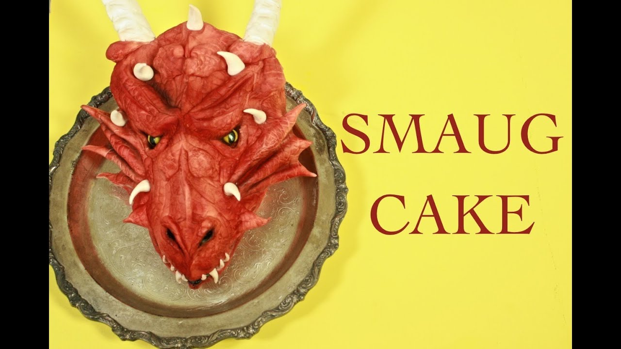 Smaug Cake How To From Lord Of The Rings Youtube
