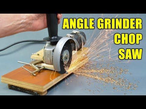 Angle Grinder Chop Saw Jig / Angle Grinder Stand
